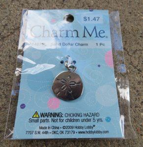Charm Me 614875L - Sand Dollar Charm