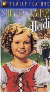 Heidi with Shirley Temple