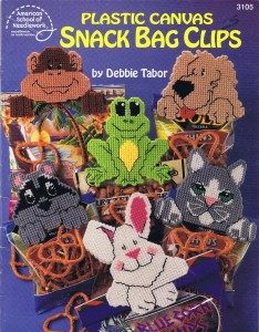 Plastic Canvas Snack Bag Clips