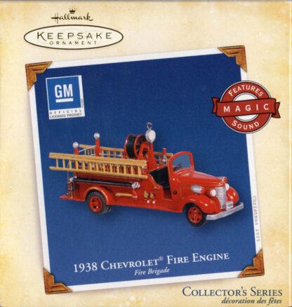 1938 Chevrolet Fire Engine
