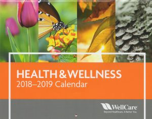 2019 Calendar - Health & Wellness