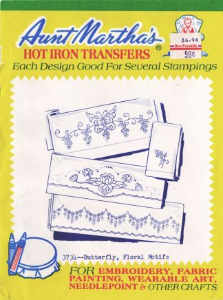 Aunt Martha's Hot Iron Transfers 3734