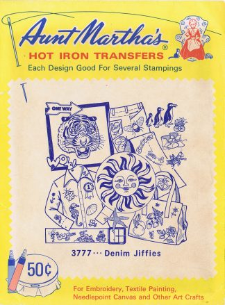 Aunt Martha's Hot Iron Transfers 3777