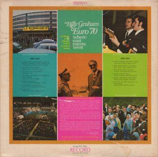 Billy Graham Euro '70