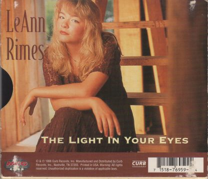 Blue / The Light In Your Eyes - back