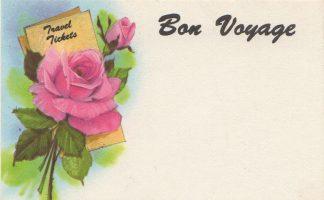 Bon Voyage floral enclosure