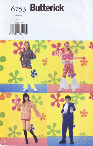 Butterick 6753 - Child 7-10