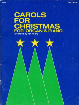 Carols For Christmas for Organ & Piano