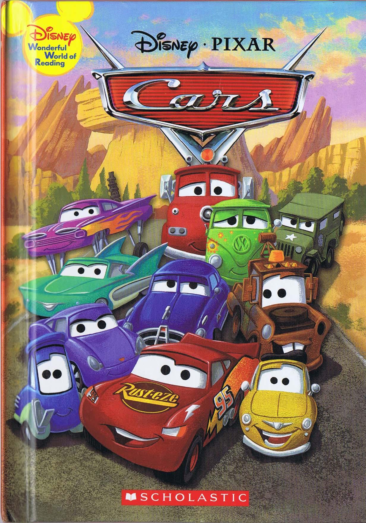 Cars Disney Wonderful World Of Reading 2006 Hc