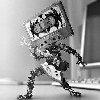 Rock Music Cassettes