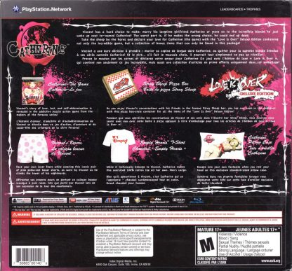 Catherine: Love Is Over (back)