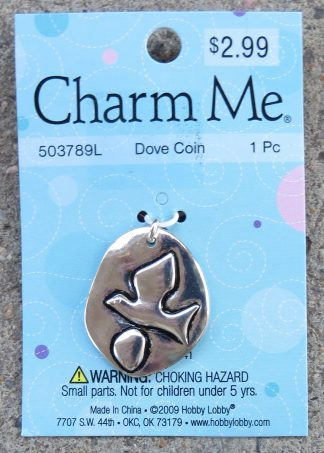 Charm Me 503789L - Dove Coin