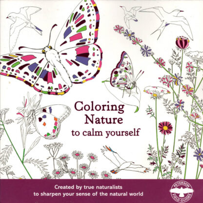 Coloring Nature to Calm Yourself