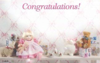 Congratulations! - girl doll