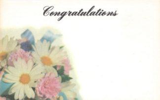 Congratulations - flower bouquet