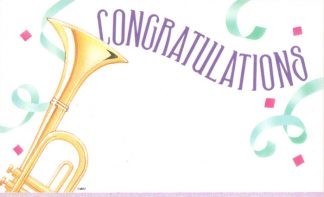 Congratulations - trumpet