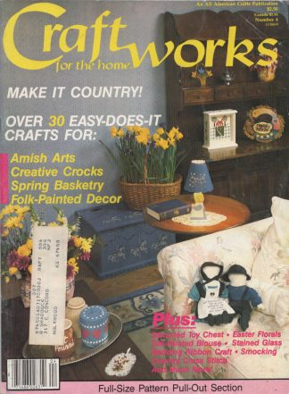 Craftworks For The Home - March 1986