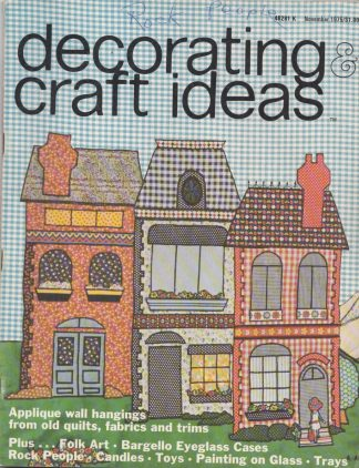 Decorating & Craft Ideas - November 1975