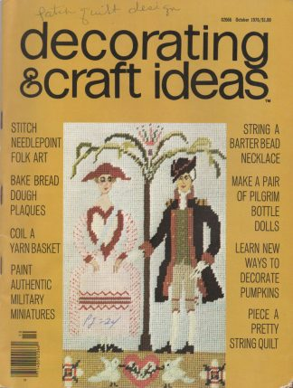 Decorating & Craft Ideas - October 1976