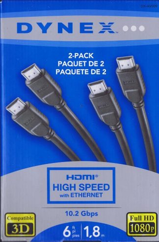 Dynex HDMI high speed cables