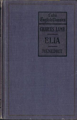 Elia by Charles Lamb