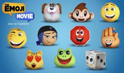 Emoji Movie McDonald's Happy Meal Toys