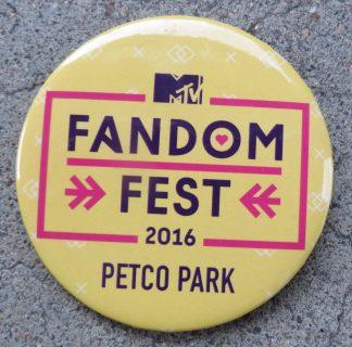 MTV Fandom Fest button