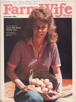 Farm Wife News - November 1984