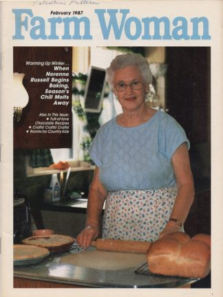 Farm Woman - February 1987