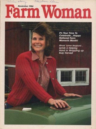 Farm Woman - November 1986