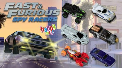 Fast & Furious Spy Racers McDonald's Happy Meal Toys
