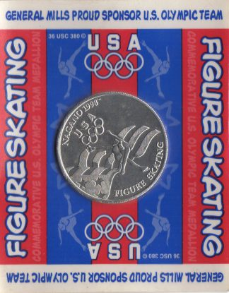Figure Skating Coin