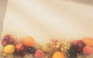Floral Enclosure Card - fruit
