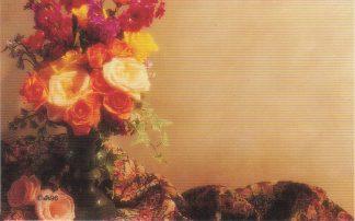 Floral Enclosure Card - rose bouquet