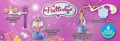 Flutterbye McDonald's Happy Meal Toys