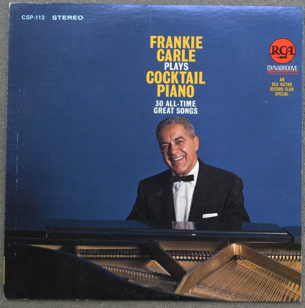 FRANKIE CARLE PLAYS COCKTAIL PIANO