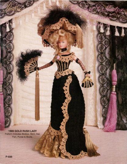 1889 Gold Rush Lady