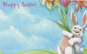 Happy Easter- with Bunny
