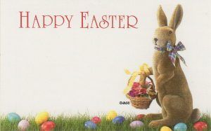 Happy Easter w/ Easter Bunny