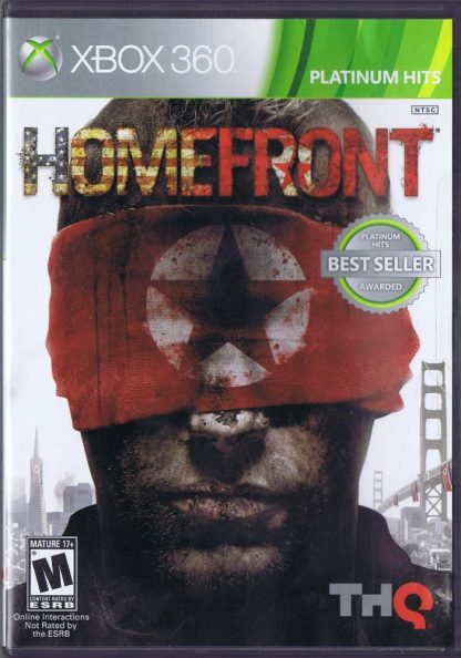 HomeFront Case Front