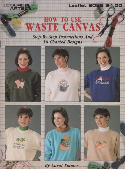 How To Use Waste Canvas