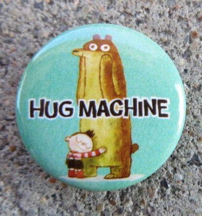 Hug Machine Pin