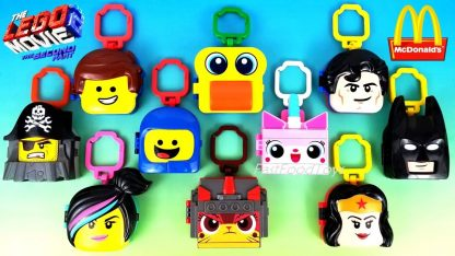 Lego Movie 2 McDonald's Happy Meal Toys