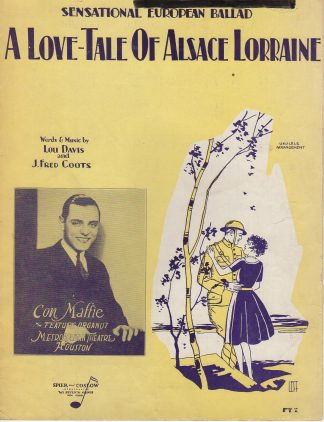 A Love-Tale Of Alsace Lorraine