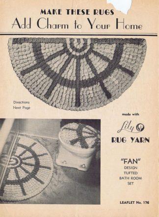 Lily Rug Yarn Leaflet