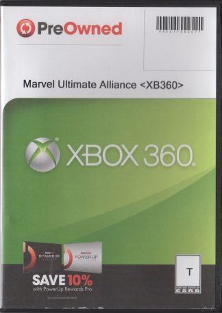 Marvel Ultimate Alliance - generic case