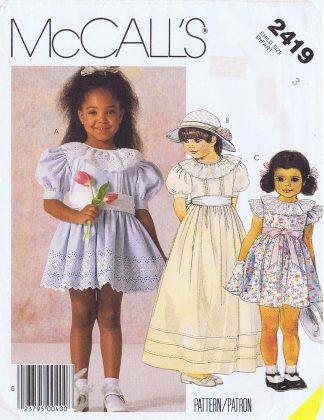 McCall's 2419 - Girls 3