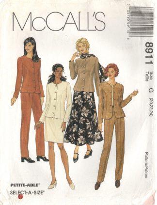 McCall's 8911