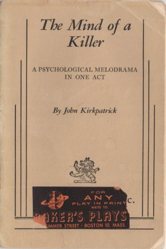 The Mind of a Killer