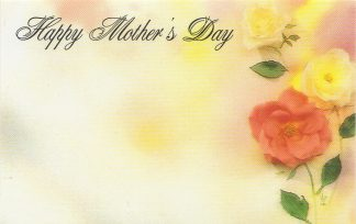 Happy Mother's Day - wild roses